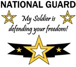 National Guard My Soldier is defending your reedom