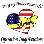 Bring my Daddy home safe!