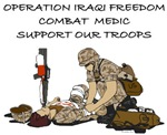 OIF COMBAT MEDIC SUPPORT OUR TROOPS