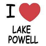 I heart lake powell