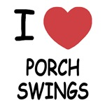 I heart porch swings