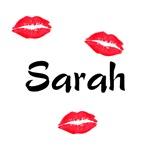Sarah kisses