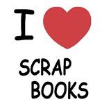 I heart scrap books
