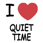 I heart quiet time