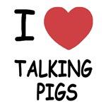 I heart talking pigs