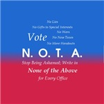 Vote None of the Above