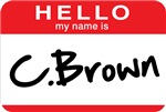 C. Brown