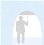 umbrella in shower