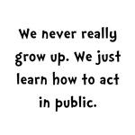 Act In Public