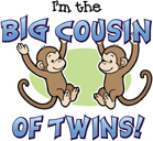 Big Cousin of Twins - Monkey
