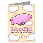 It's a Girl Birth Announcement Cards