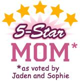 PERSONALIZED <br>5-Star Mom