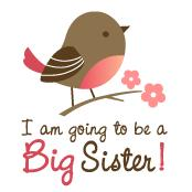 Big Sister to be - Mod Bird