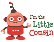 Little Cousin - Retro Robot