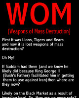 Weapons of Mass Destruction!