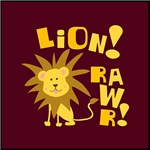 Lion!  Rawr!