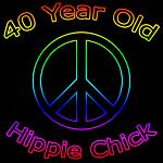 Hippie Chick 40th Birthday Gifts