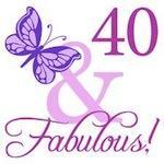 40 & Fabulous (Plumb)