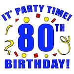 80th Birthday Party Time