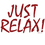 Just Relax Custom dark t-shirts