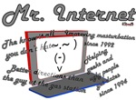 Mister Internet Does it All t-shirts and gifts