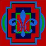 Fleur De Lis Art Deco 2