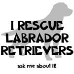 I RESCUE Labrador Retrievers