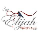 Team Elijah The Vampire Diaries Raven Ribbon2