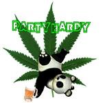Party hardy Panda