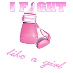 I fight Like a Girl Breast Cancer Awareness