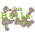 Team Bella Floral Lavender Flowers yellow Gold 2
