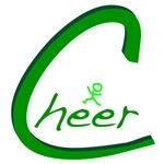Cheer Handwritten Green