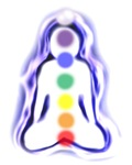 Meditating Spirit with Chakras