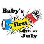 Baby's First 4th of July