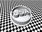 Retro USA Emblem