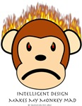 Intelligent Design Makes My Monkey Mad
