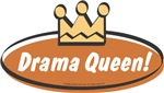 Unique Baby Gifts - Vintage Drama Queen (Girls)