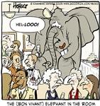 Bon Vivant Elephant