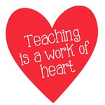 Red Teacher Heart