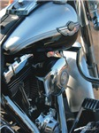 H3165 Motorcycle Watercolor