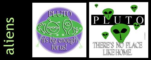 Aliens on Pluto / Sci-fi