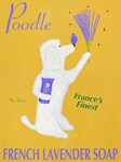 Poodle French Lavender Soap