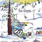When Zeke the zebra hit the slopes..
