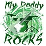 Dad Rocks Green