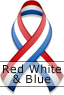 Red White & Blue Ribbon