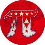 Carnival Pi red grunge