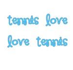Tennis Love Mugs | Blue