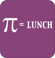 Pie equals lunch