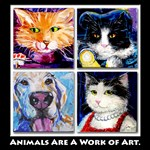 Animals are a Work of Art