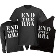 Clothing - END THE RBA